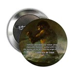 "Goya Colossus Fantasy Quote 2.25"" Button (10 pack)"