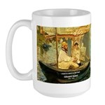 French Painter Manet Quote Large Mug