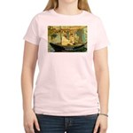 French Painter Manet Quote Women's Pink T-Shirt