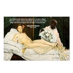 Impressionist Art Manet  Postcards (Package of 8)