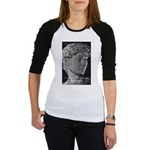 David with Michelangelo Quote Jr. Raglan