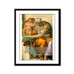 Michelangelo Art Philosophy Framed Panel Print