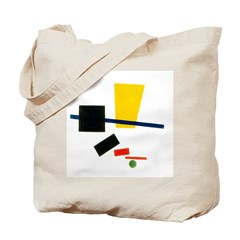 "Double sided ""Malevich"" bag"
