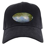 Monet Painting: Beauty Quote Black Cap