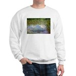 Monet Painting: Beauty Quote Sweatshirt