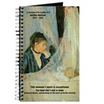 Female Artist Morisot Quote Journal