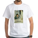 Female Artist Morisot Quote White T-Shirt