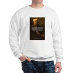 Renbrandt Self Portrait & Quote Sweatshirt
