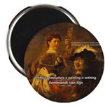 "Art & Atmosphere Rembrandt 2.25"" Magnet (10 pack)"