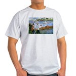 Renoir Painting: Art & Beauty Ash Grey T-Shirt