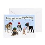 Bark The Herald Angels Sing Christmas Cards