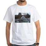 Renoir The Louvre & Nature White T-Shirt