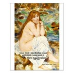 Renoir Impressionist Nude Small Poster