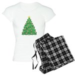 Celtic Christmas Tree Women's Light Pajamas