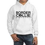 Border Collie Agility Hooded Sweatshirt