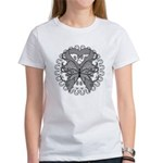 Tattoo Butterfly Diabetes Women's T-Shirt