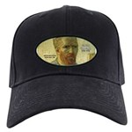 Vincent Van Gogh Quote Black Cap