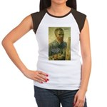 Vincent Van Gogh Quote Women's Cap Sleeve T-Shirt