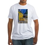 Vincent Van Gogh Color Art Fitted T-Shirt