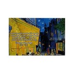 Vincent Van Gogh Color Art Rectangle Magnet (100 p