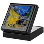 Vincent Van Gogh Color Art Keepsake Box