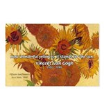 Van Gogh Painting & Quote Postcards (Package of 8)