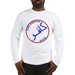Red White Blue Pure Infidel Long Sleeve T-Shirt