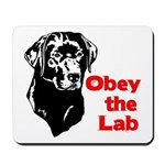 Obey the Lab Mousepad