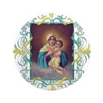 "MTA - Our Lady of Schoenstatt 3.5"" Button (100 pac"