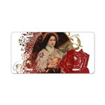 """St. Therese"" Aluminum License Plate"
