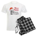Buon Natale Roma Men's Light Pajamas