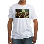 Intoxication Nietzsche Art Fitted T-Shirt