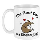 Best Shelter Dog Mug