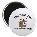 Best Shelter Dog Magnet