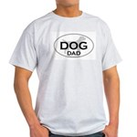 DOG DAD Ash Grey T-Shirt
