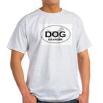 DOG GRANDPA Ash Grey T-Shirt
