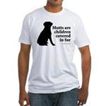 Mutt Fur Children Fitted T-Shirt