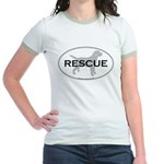 RESCUE Jr. Ringer T-Shirt