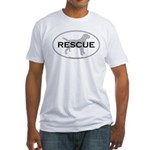 RESCUE Fitted T-Shirt