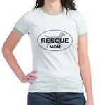 Rescue MOM Jr. Ringer T-Shirt