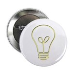 """The Pale Bulb 2.25"""" Button (10 pack)"""