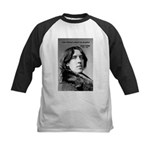 Playwright Oscar Wilde Kids Baseball Jersey