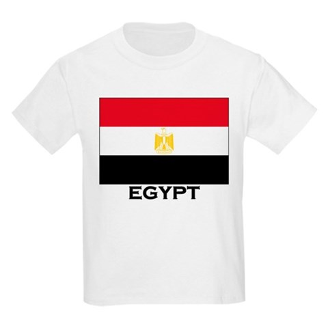 Flag of Egypt Kids T-Shirt