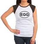 Egg European Oval Women's Cap Sleeve T-Shirt