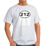 212 New York City Area Code Light T-Shirt