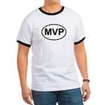 MVP Most Valuable Player Oval Ringer T