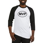 MVP Most Valuable Player Oval Baseball Jersey