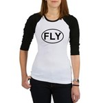 Fly Pilot Flying European Oval Jr. Raglan