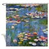 Water Lilies by Claude Monet Shower Curtain