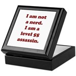 Not Nerd Assassin Keepsake Box